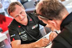 Tommi Mäkinen, directeur, Toyota Racing WRC