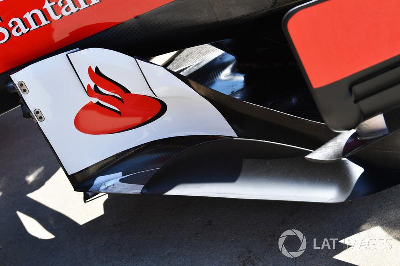 Ferrari SF70H: Windabweiser vor dem Seitenkasten