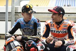 Tito Rabat, Estrella Galicia 0,0 Marc VDS; Marc Marquez, Repsol Honda Team
