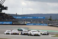 Start zum DTM-Sonntagsrennen am Nürburgring