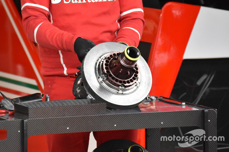 Ferrari SF70H, brake disc