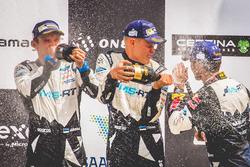 Podium: Ott Tänak, Martin Järveoja, Ford Fiesta WRC, M-Sport