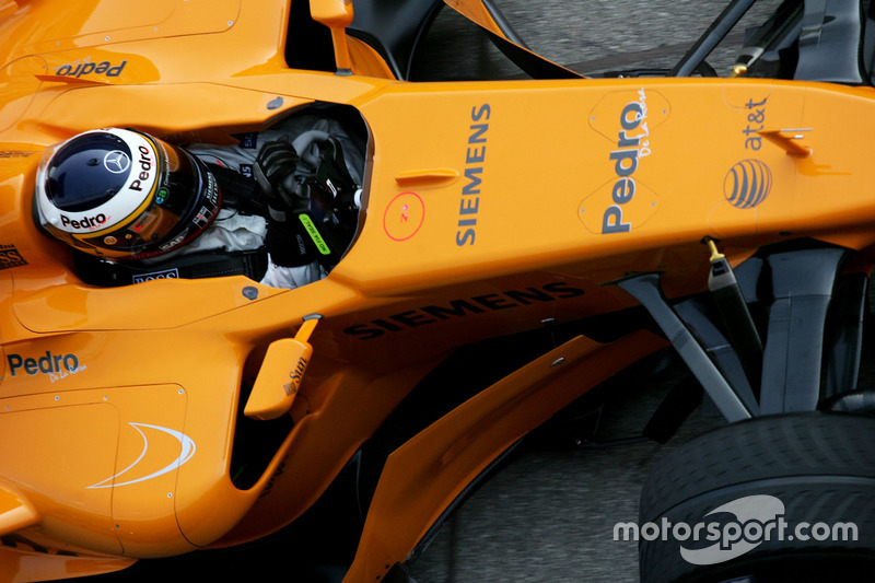 Педро де ла Роса, McLaren MP4-21
