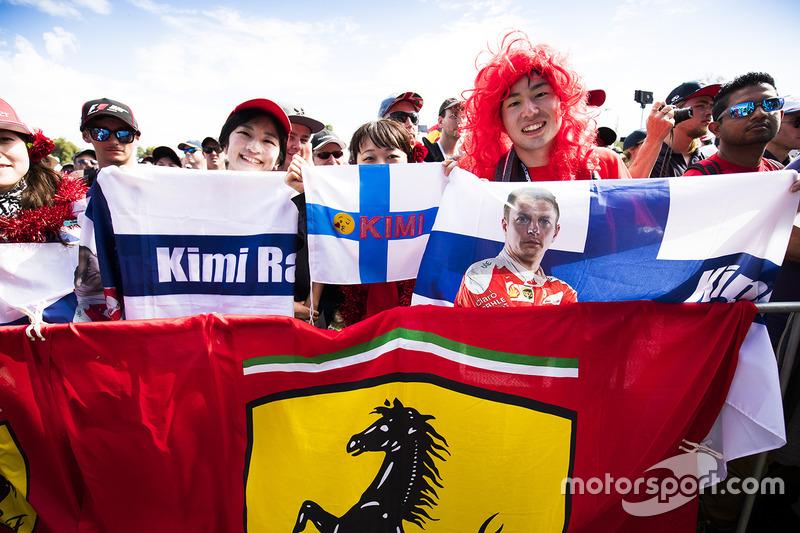Fans von Kimi Räikkönen