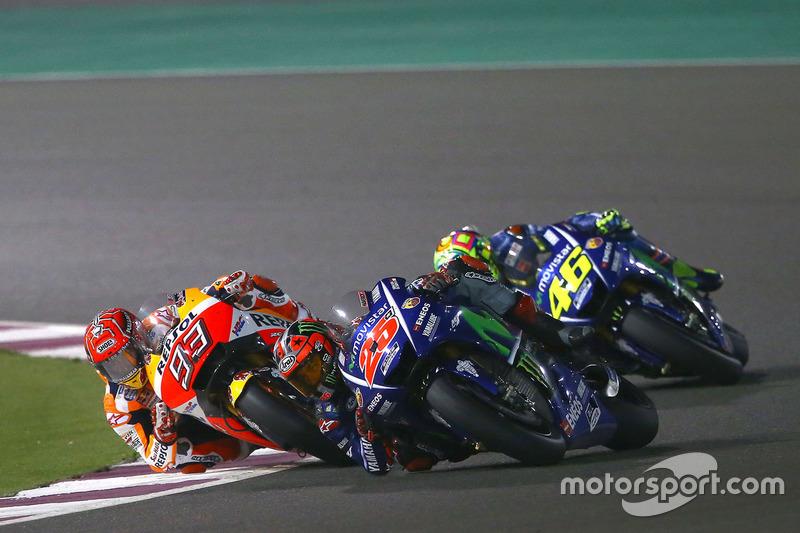 El duelo en pista entre Márquez y Viñales aún no se ha visto este año