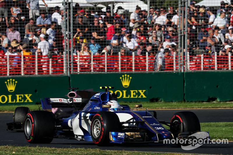 12. Антонио Джовинацци (Sauber)