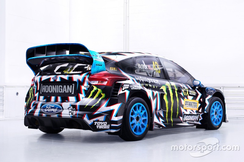 Hoonigan Racing车队新车涂装发布