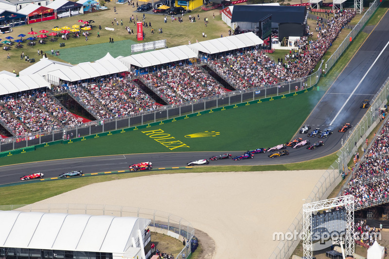Sebastian Vettel, Ferrari SF70H, Valtteri Bottas, Mercedes AMG F1 W08, Kimi Raikkonen, Ferrari SF70H, Felipe Massa, Williams FW40