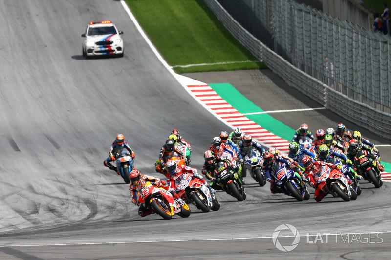 Marc Marquez, Repsol Honda Team leads start