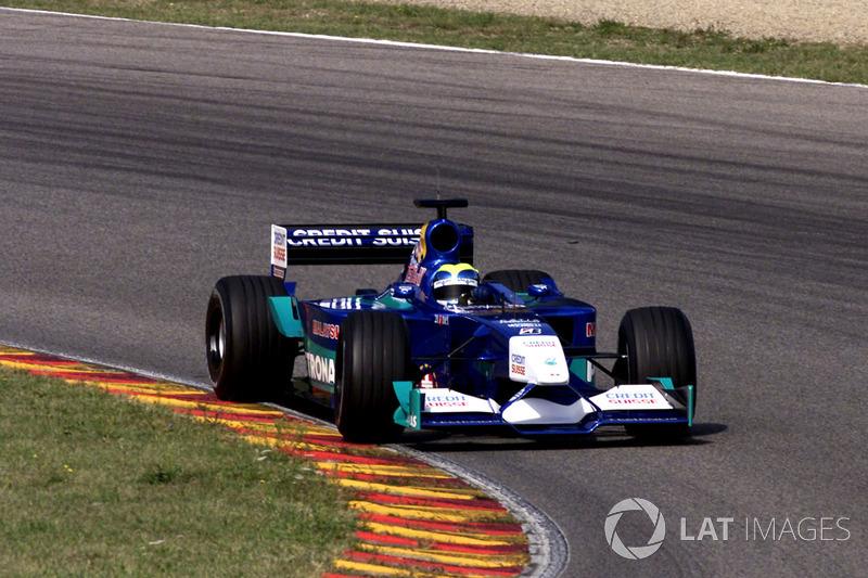 Вересень 2001 – Феліпе Масса, Sauber C20 Petronas