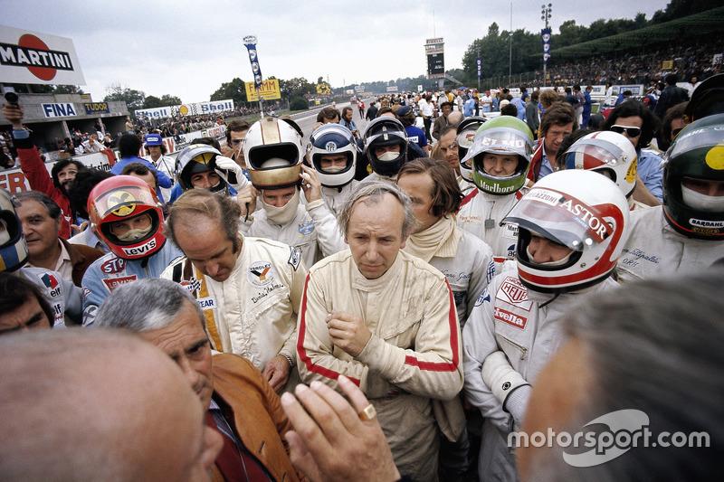 Briefing piloti prima del GP d'Italia del 1972
