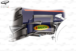 Red Bull RB13 barge board, Canadian GP