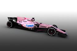 Sahara Force India  VJM10 mit BWT-Sponsoring