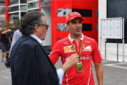 Giancarlo Minardi, Marc Gene, Ferrari