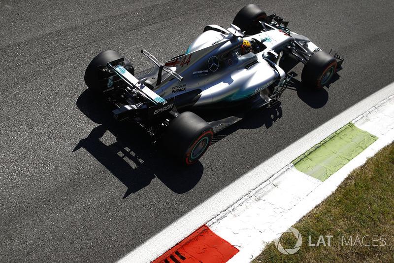 1. Льюіс Хемілтон, Mercedes AMG F1 W08 - 238