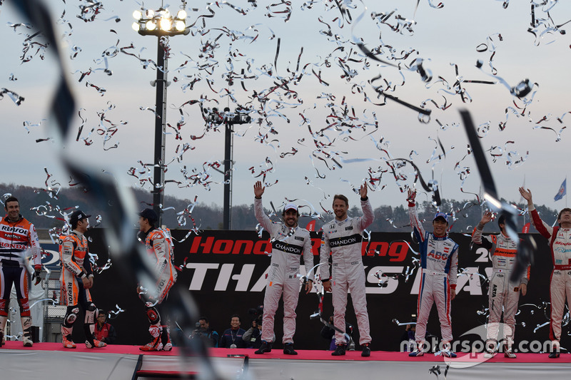 Final de Honda Racing