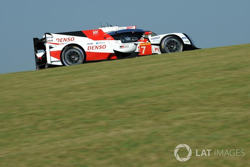 4. LMP1: #7 Toyota Gazoo Racing, Toyota TS050 Hybrid