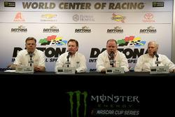 Jim Campell, Chevrolet; Richard Childress; Owner Richard Childress Racing, Chip Ganassi, Owner Chip Ganassi Racing; Rick Hendrick, Owner Hendrick Motorsports