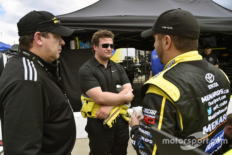 Cody Coughlin, ThorSport Racing, Toyota; Matt Crafton, ThorSport Racing, Toyota