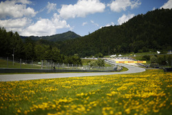 A scenic view of the Red Bull Ring track