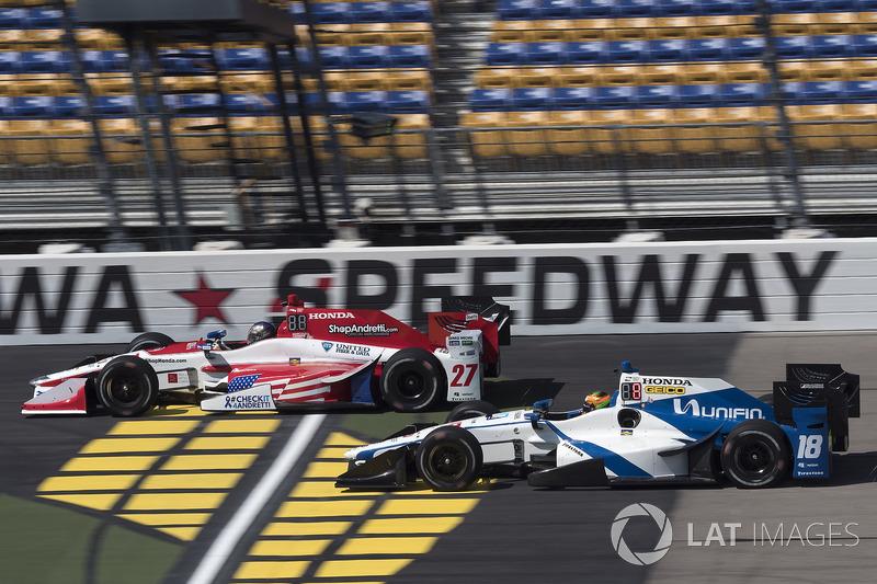 Marco Andretti, Andretti Autosport Honda Esteban Gutiérrez, Dale Coyne Racing Honda