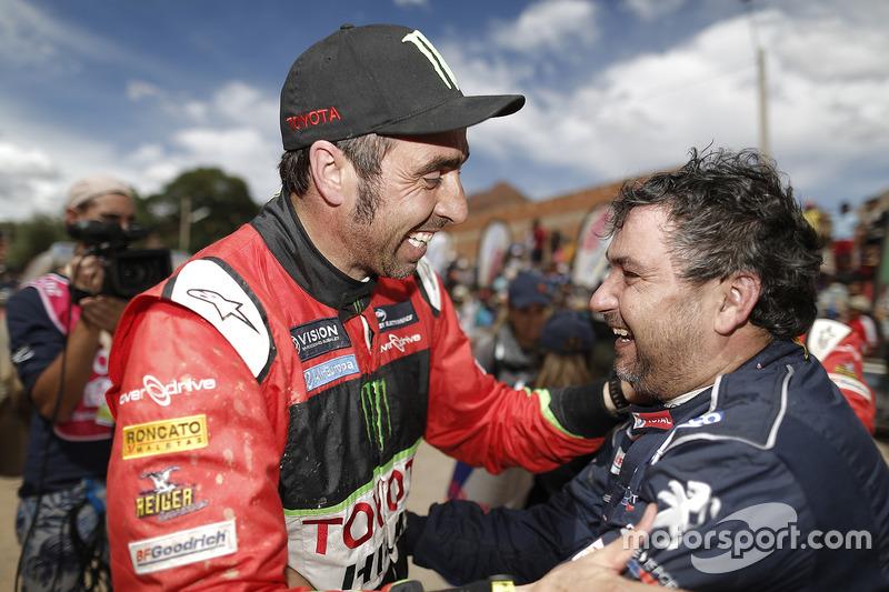 Nani Roma, Overdrive Racing Toyota and Daniel Elena, Peugeot Sport