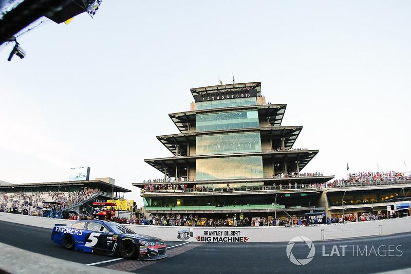 Sieg für Kasey Kahne, Hendrick Motorsports Chevrolet
