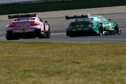 Lucas Auer, Mercedes-AMG Team HWA, Mercedes-AMG C63 DTM; Loic Duval, Audi Sport Team Phoenix, Audi R
