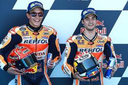 Володар поул-позиції Дані Педроса, Repsol Honda Team, друге місце Марк Маркес, Repsol Honda Team