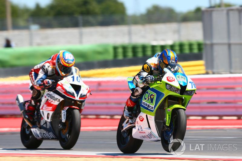 Hikari Okubo, CIA Landlord Insurance Honda, Nacho Calero, Orelac Racing VerdNatura Kawasaki