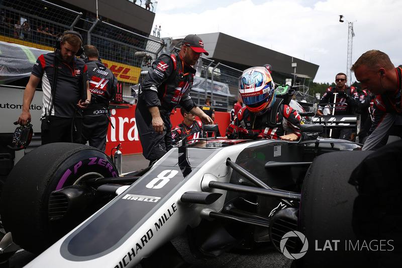 Romain Grosjean, Haas F1 Team Team