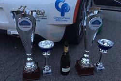 I trofei di Ivan Tenca e Moira Lucca al Rally Coppa Valtellina Nazionale