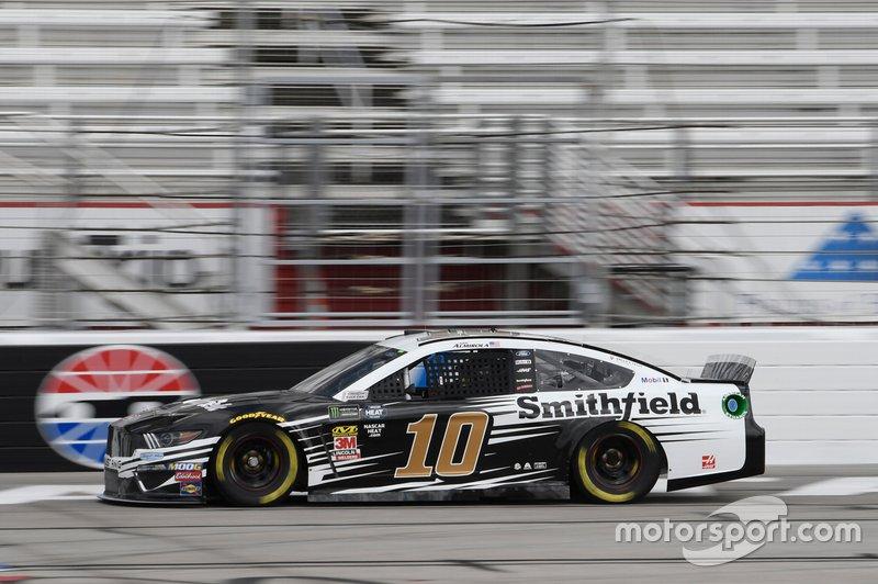 1. Aric Almirola, Stewart-Haas Racing, Ford Mustang Smithfield