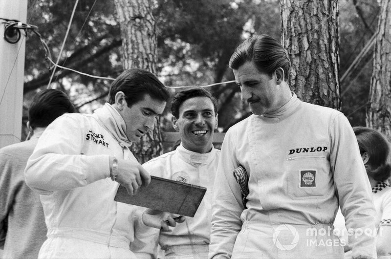 Jackie Stewart, Jim Clark ve Graham Hill