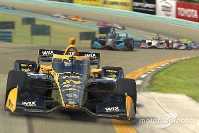 IndyCar iRacing 挑战赛第一轮