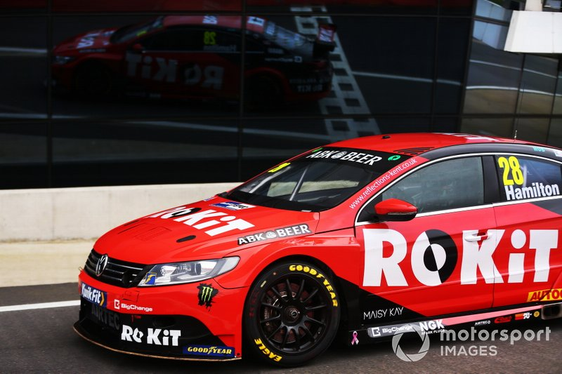 Nicolas Hamilton, ROKiT Racing with Team HARD