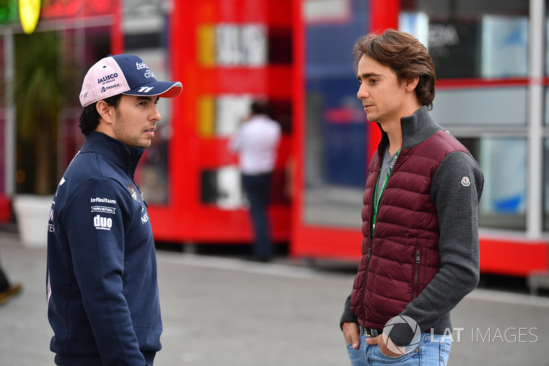 Серхіо Перес, Racing Point Force India F1 Team, Естебан Гутьєррес