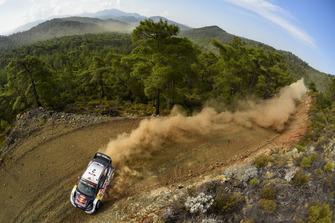 Элфин Эванс и Дэниэл Бэрритт, Ford Fiesta WRC, M-Sport Ford
