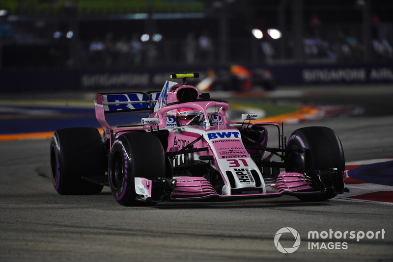 9: Esteban Ocon, Racing Point Force India VJM11, 1'38.365