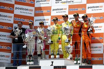 Podium: Race winner #48 HTP Motorsport Mercedes-AMG GT3: Indy Dontje, Maximilian Buhk, second place #25 BWT Mücke Motorsport Audi R8 LMS: Ricardo Feller, Christopher Haase, third place #63 ORANGE1 by GRT Grasser Lamborghini Huracán GT3: Andrea Caldarelli, Mirko Bortolotti