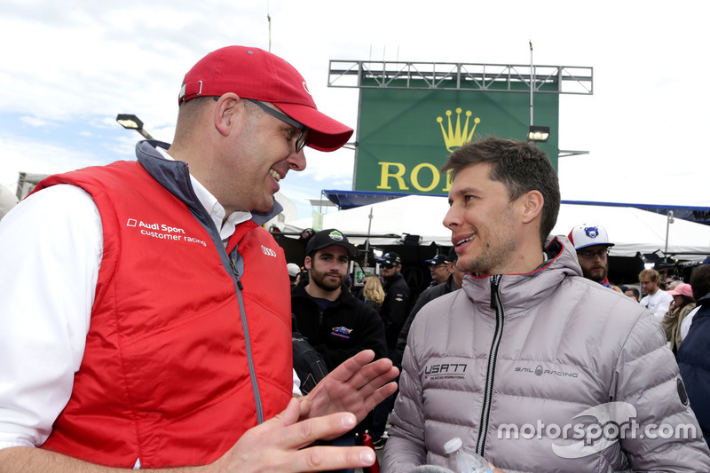 Chris Reinke, Audi Customer Sport en Loic Duval, DragonSpeed