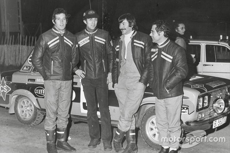 Antonio Zanini, Juan José Petisco, Daniel Ferrater and Salvador Cañellas