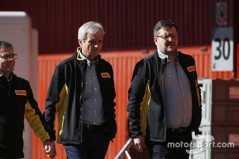 Paul Hembrey, Pirelli-Sportchef