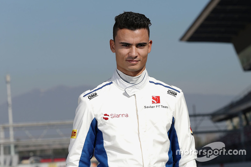 Паскаль Верляйн, Sauber F1 (2017)
