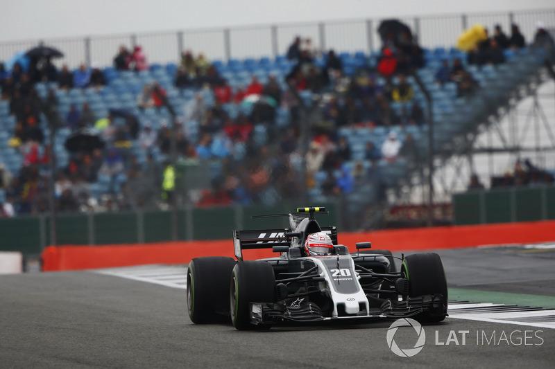 Kevin Magnussen, Haas F1 Team VF-17.