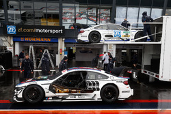 Autos von Tom Blomqvist, BMW Team RBM, BMW M4 DTM, und Maxime Martin, BMW Team RBM, BMW M4 DTM