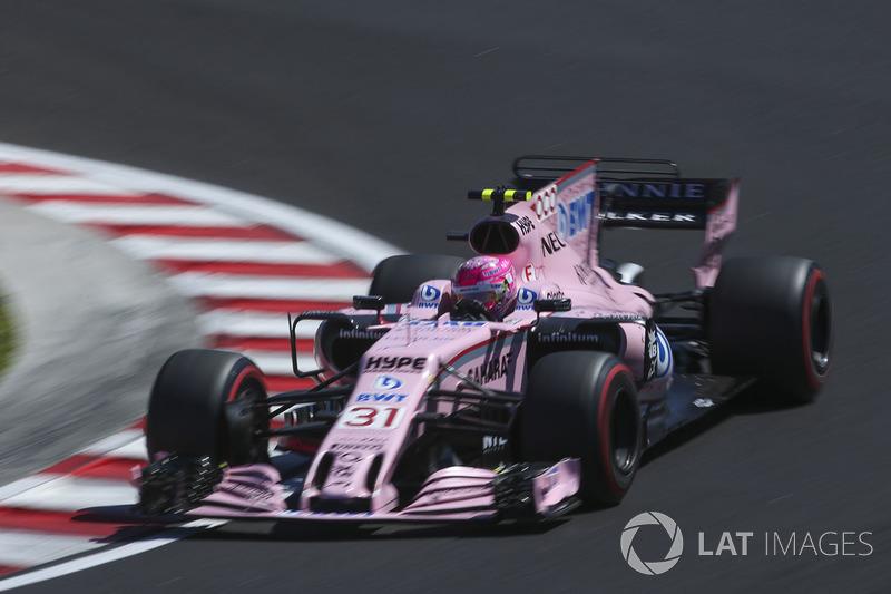 8. Естебан Окон, Force India — 45