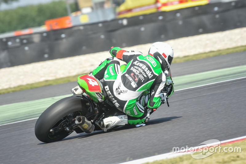 #4 Tati Team Beaujolais Racing, Kawasaki: Julien Enjolras, Dylan Buisson, Kevin Denis