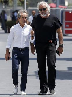 Alain Prost, Renault Sport F1 Team Danışmanı ve Flavio Briatore