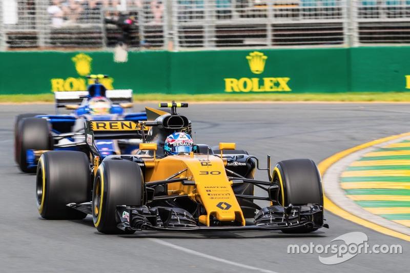 20. Jolyon Palmer, Renault Sport F1 Team RS17